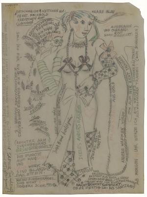<p>Annemarie von Matt Tourbillon, 1947</p> — © Centre culturel suisse. Paris