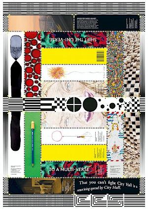 <p>Edition Affiche Marque-Pages 10 ans de la librairie du CCS. Graphisme Marietta Eugster Studio. Offset, CMYK, Euroscala (51x72cm). Ed. 100 ex. Prix 10€.</p>
