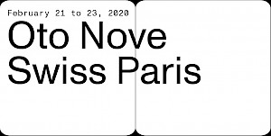 Oto Nove Swiss Paris Festival — © Centre culturel suisse. Paris