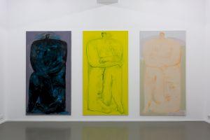 """<p>Ralph Bürgin """"La place"""" vue de l'exposition © Margot Montigny, CCS</p>"""