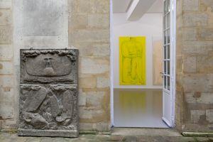 "<p>Vue de l'exposition ""La place"" de Ralph Bürgin © Margot Montigny, CCS</p>"