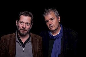Mathieu Amalric et Antoine Jaccoud (c) Simon Letellier / CCS — © Centre culturel suisse. Paris