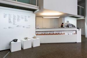 <p>Julie Gilbert La bibliothèque sonore des femmes, Centre culturel suisse, 2019 © Margot Montigny / CCS</p>