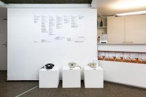 Julie Gilbert La bibliothèque sonore des femmes, Centre culturel suisse, 2019 © Margot Montigny / CCS