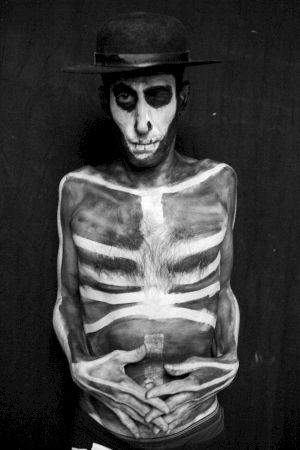 <p>Mr. Skeleton  © Augustin Rebetez</p>