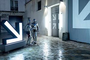 <p>Delgado Fuchs & guests Heroes, performance, Centre culturel suisse, janvier 2019 Margot Montigny</p> — © Centre culturel suisse. Paris