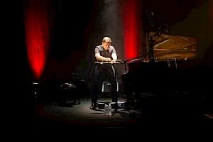 Mario Batkovic au Centre culturel suisse, 2018 / © Margot Montigny / CCS