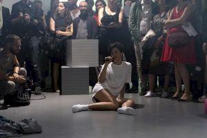 """<p>Alexandra Bachzetsis """"Escape Act pour le Centre culturel suisse"""" / © Marc Domage pour le CCS</p>"""