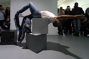 """Alexandra Bachzetsis """"Escape Act pour le Centre culturel suisse"""" / © Marc Domage pour le CCS"""