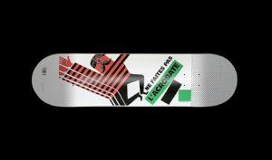 <p>Skateboard Intrus Sympathiques: Bernard Chadebec (2016)</p>