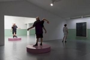 """<p>Urs Lüthi, """"Just Another Dance"""", exposition au Centre culturel suisse, 2018 / © Marc Domage</p>"""