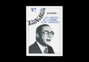 """<p>Revue hebdomadaire suisse de contre information et de lutte, «Tout va bien"""", 1981 Carouge: Archives contestataires.</p>"""
