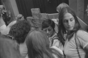 <p>Le MLF mure l'administration, 12.08.1976, CIG, Fonds Christian Murat</p>