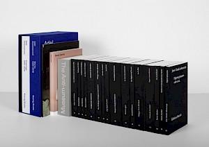 Sélection d'ouvrages conçus par Schaffter Sahli — © Centre culturel suisse. Paris