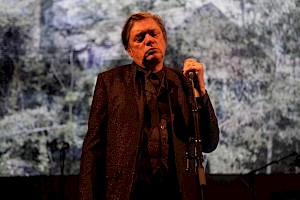 KiKu & Blixa Bargeld & Black Cracker, Eng, Düster und Bang, Centre culturel suisse, octobre 2017 / © Simon Letellier