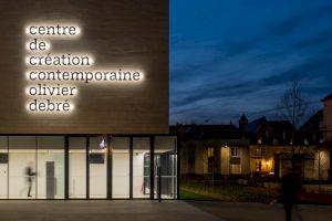 <p>Le centre de création contemporaine Oliver Débré / © Baldinger•Vu-Huu</p>