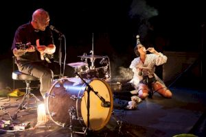 <p>Reverend Beat-Man et Lalla Morte / © Simon Letellier</p>