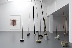 """Silvia Bächli Eric Hattan """"Situer la différence"""", Centre culturel suisse, 2017 / © Marc Domage"""
