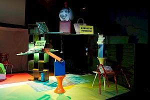 La Conquête de l'inutile, Oscar Gómez Mata - l'Alakran, Centre culturel suisse, 2017 / Photo: Simon Letellier — © Centre culturel suisse. Paris