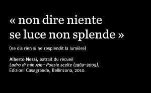 Alberto Nessi — © Centre culturel suisse. Paris