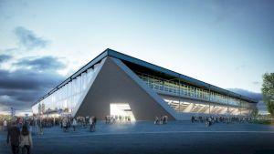 """<p>Stade de foot 'La Tuilière"""", Lausanne / Photo: loomn</p> — © Centre culturel suisse. Paris"""