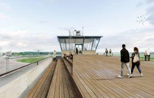 <p>Tour de contrôle de l'aéroport de Tempelhof, Berlin / Photo: ponnie</p> — © Centre culturel suisse. Paris