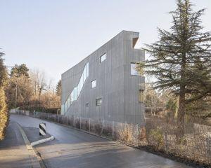 <p>Logements à Rovéréaz, Lausanne (2012-2013) / Photo: Matthieu Gafsou</p>