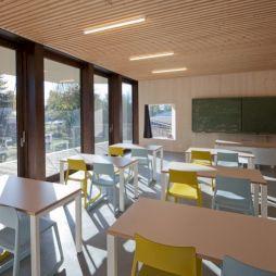 <p>Ecole à Boisgenoud / Photo: Matthieu Gafsou</p>