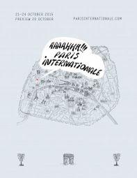 <p>Marie Lusa, affiche Paris Internationale</p>