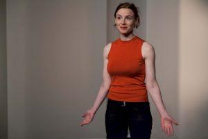 <p>Denis Maillefer, Marla, portrait d'une femme joyeuse / Photo: Simon Letellie</p>
