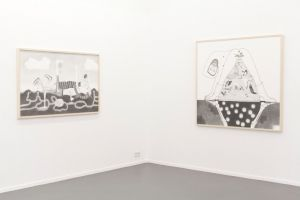 <p>Vue de l'exposition / Photo: Simon Letellier</p> — © Centre culturel suisse. Paris