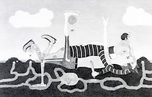 Sabian Baumann, Von Gestern bis Morgen, aus der Serie Liebe und Traum, horizontales Paradies, 2014 — © Centre culturel suisse. Paris