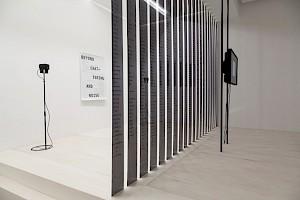 <p>Dominique Koch, Beyond Chattering and Noise, 2015 / Photo: Simon Letellier</p> — © Centre culturel suisse. Paris