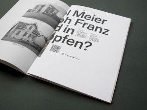 """<p>Michael Meier et Christoph Franz """"Aufmachen? Aufmachen!"""". Livre d'artiste et catalogue d'exposition</p>"""