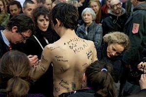 Cédric Leproust, Nous souviendrons Nous / Photo: Simon Letellier — © Centre culturel suisse. Paris