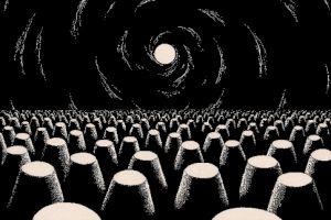 <p>Aurélien Gamboni, On balls and brains (détail), 2011</p> — © Centre culturel suisse. Paris