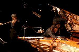 <p>Sylvie Courvoisier & Mark Feldmann</p> — © Centre culturel suisse. Paris