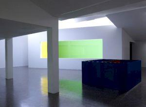 <p>Vue de l'exposition Olivier Mosset - Collaborations / Photo: Marc Domage / CCS</p> — © Centre culturel suisse. Paris