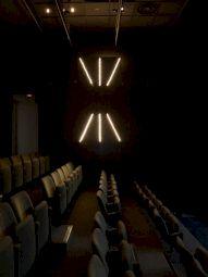 <p>Olivier Mosset / Alix Lambert, Chelsea Odeon, 1994 / Photo: Marc Domage / CCS</p> — © Centre culturel suisse. Paris