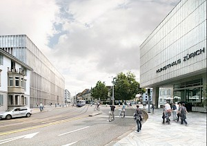Extension Kunsthaus Zurich© David Chipperfield Architects