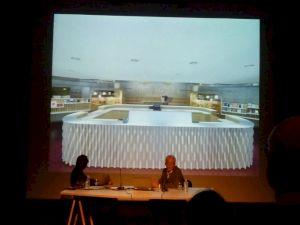 <p>Roger Mayou (directeur du MICR) et Patrick Reymond (atelier oî) / Photo: D.R.</p>