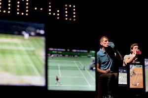 In Love with Federer / Photo: Augustin Rebetez — © Centre culturel suisse. Paris