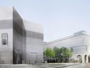 <p>Projet pour l'extension du Kunstmuseum de Bâle © Christ & Gantenbein</p>