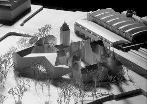 <p>Projet pour l'extension du Musée national suisse à Zurich © Christ & Gantenbein</p>