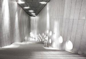 Projet pour l'extension du Musée national suisse à Zurich © Christ & Gantenbein