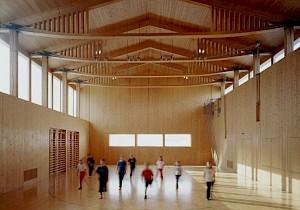 Salle polyvalente, Vrin / Photo: DR — © Centre culturel suisse. Paris
