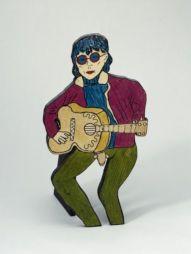 """<p>Dorothy Iannone, sans titre / Bill Wyman (de la série """"People""""), 1966-67, Aargauer Kunsthaus Aarau / Dépôt de la collection Andreas Züst / Photo: David Aebi</p>"""