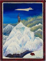 <p>Bertram Schoch, Mt. Everest, 1978, Aargauer Kunsthaus Aarau / Dépôt de la collection Andreas Züst / Photo: David Aebi</p>