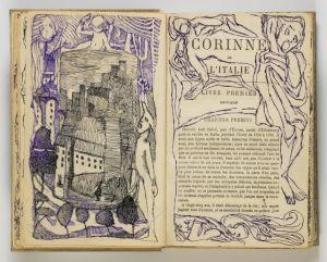 """<p>Louis Soutter, """"Corinne ou l'Italie"""" de Mme de Staël, 1928, Aargauer Kunsthaus Aarau / Dépôt de la collection Andreas Züst / Photo: David Aebi</p>"""
