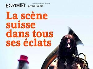 Couverture du magazine Mouvement — © Centre culturel suisse. Paris